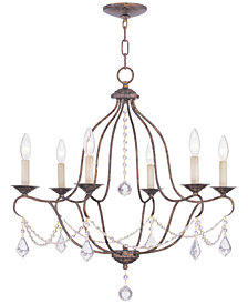 Livex Chesterfield Chandelier