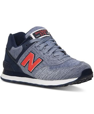 New Balance Women's 574 Sweatshirt Casual Sneakers