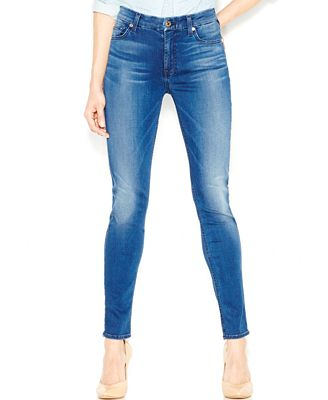 7 For All Mankind Slim Illusion Mid-Rise Skinny Jeans