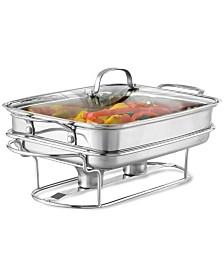 Cuisinart Classic Stainless Steel Rectangular Covered Buffet Server