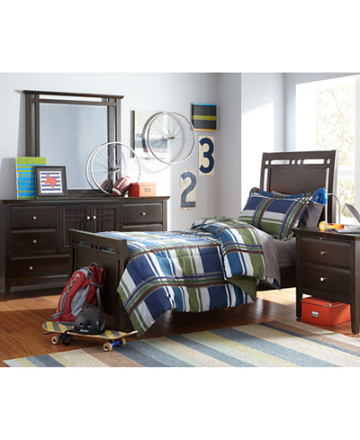 CLOSEOUT! Edgewater Twin Bedroom Furniture Collection