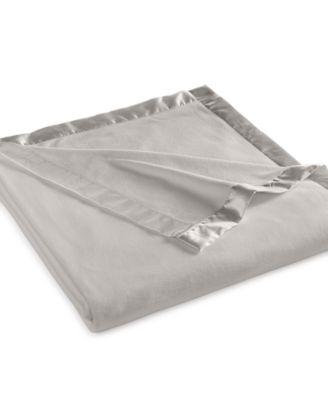 Martha Stewart Collection Soft Fleece King Blanket Bedding
