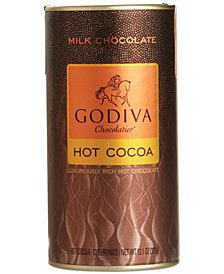Godiva Chocolatier, Milk Chocolate Cocoa Canister