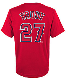 Majestic Mike Trout Los Angeles Angels of Anaheim Player T-Shirt, Big Boys