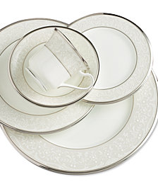 "Noritake ""Silver Palace"" 5-Piece Place Setting"
