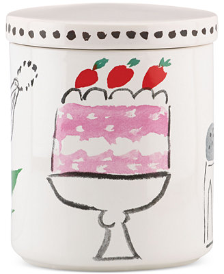 All In Good Taste Cake Canister by Kate Spade New York