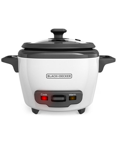 Black & Decker RC503 3-Cup Rice Cooker And Warmer