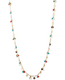 Gold-Tone Bead Necklace