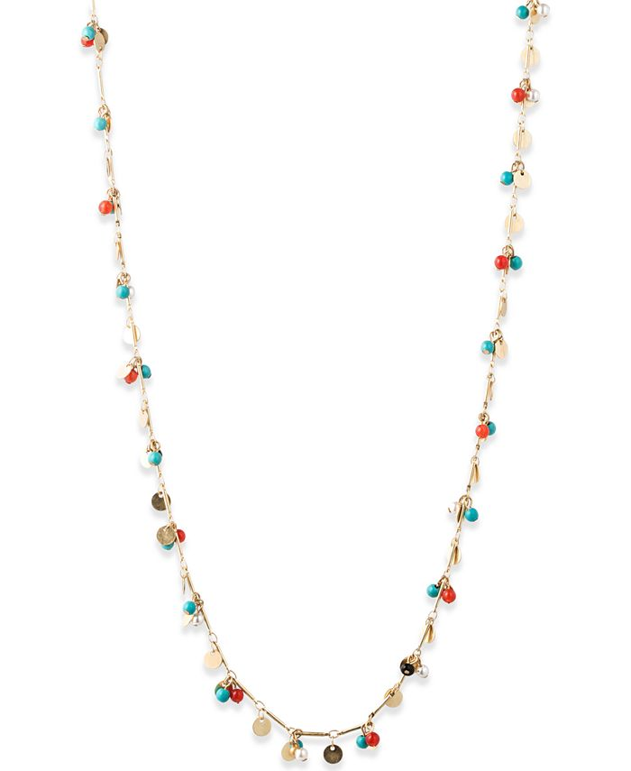 lonna & lilly - Gold-Tone Bead Necklace