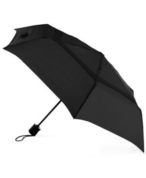 'WINDPRO' AUTO OPEN & CLOSE UMBRELLA - BLACK
