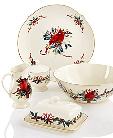 Winter Greetings Serveware Collection