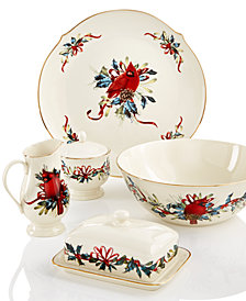 Lenox Winter Greetings Serveware Collection