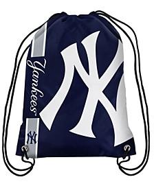 New York Yankees Big Logo Drawstring Bag