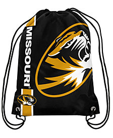 Forever Collectibles Missouri Tigers Big Logo Drawstring Bag