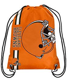 Forever Collectibles Cleveland Browns Big Logo Drawstring Bag