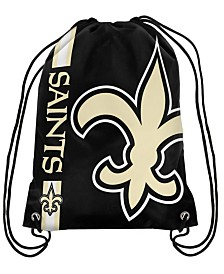 Forever Collectibles New Orleans Saints Big Logo Drawstring Bag
