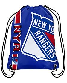 New York Rangers Big Logo Drawstring Bag