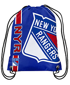 Forever Collectibles New York Rangers Big Logo Drawstring Bag