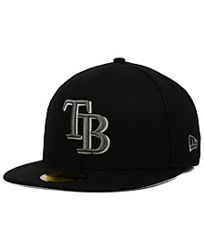 New Era Tampa Bay Rays Graphite 59FIFTY Cap