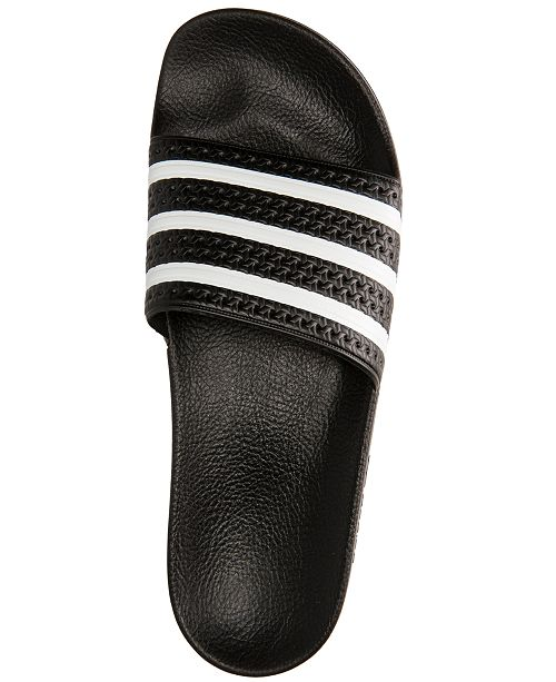 adidas Men s Adilette Slide Sandals from Finish Line   Reviews - All ... 33a99be6f