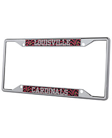 Stockdale Louisville Cardinals Chevron License Plate Frame