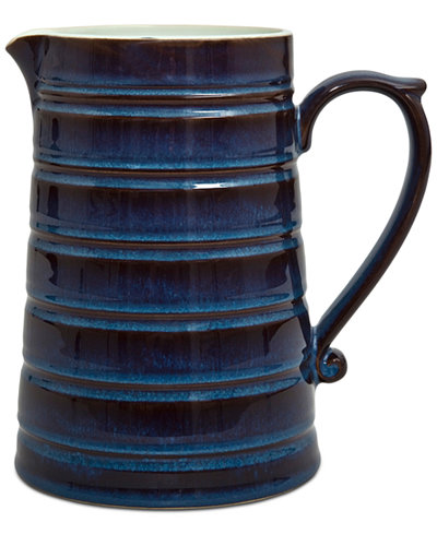 Denby Dinnerware Peveril Collection Stoneware Ridge Pitcher