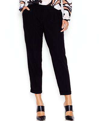 Bar III Cropped Pants