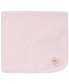 Baby Girls Sweet Bear Blanket