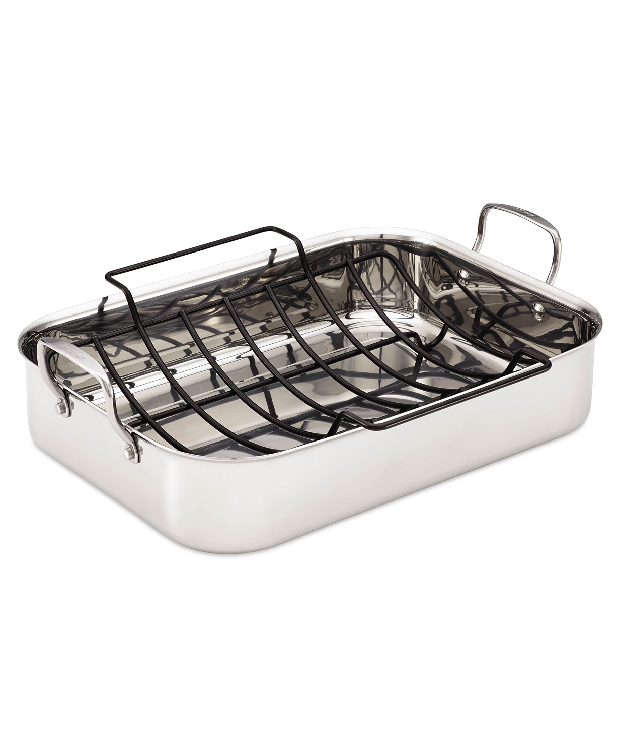 Save 60% on Anolon Tri-Ply Roaster with Roasting Rack