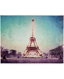 Graham & Brown Canvas Paris At Dusk Wall Art