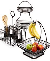 Gourmet Basics By Mikasa Wire Basket Collection