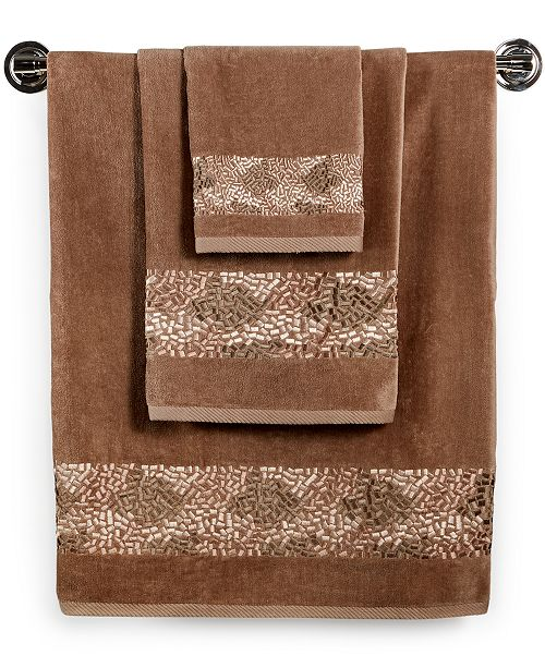 "Croscill Hand Towels: Croscill Bath, Mosaic 27"" X 52"" Bath Towel"