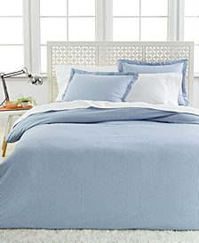 Wesport Linens Oxford Stripe Yarn Dye King Duvet Set