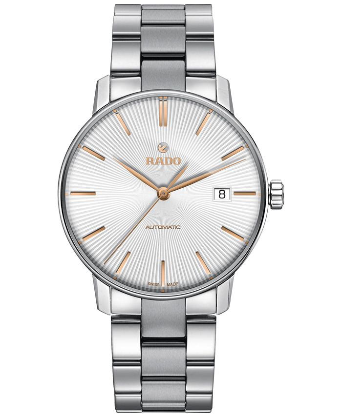 Rado - Men's Swiss Automatic Coupole Classic Stainless Steel Bracelet Watch 38mm R22860023