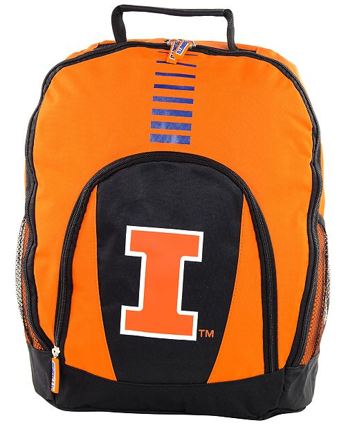 Forever Collectibles Illinois Fighting Illini Prime Time Backpack