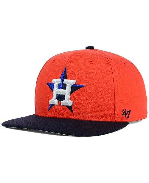 ff870f30b28b3  47 Brand. Houston Astros Sure Shot Snapback Cap. Be the first to Write a  Review. main image  main image ...