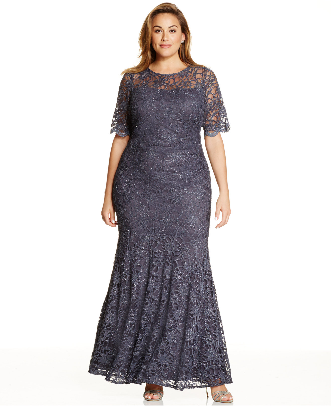 Macys Plus Size Dresses Wedding Guest - Prom Dresses With Pockets