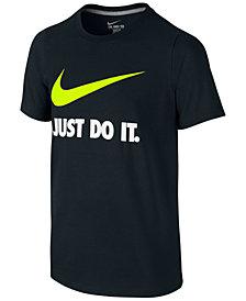Nike Just Do It Swoosh Tee, Big Boys