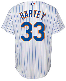 Majestic Kids' Matt Harvey New York Mets Replica Jersey, Big Boys (8-20)