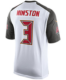 Nike Men's Jameis Winston Tampa Bay Buccaneers Game Jersey