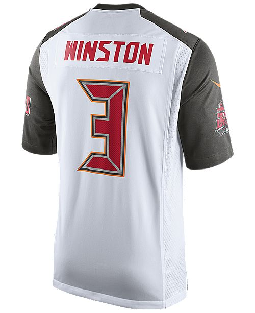 7ccb1d99a Nike Men s Jameis Winston Tampa Bay Buccaneers Game Jersey - Sports ...