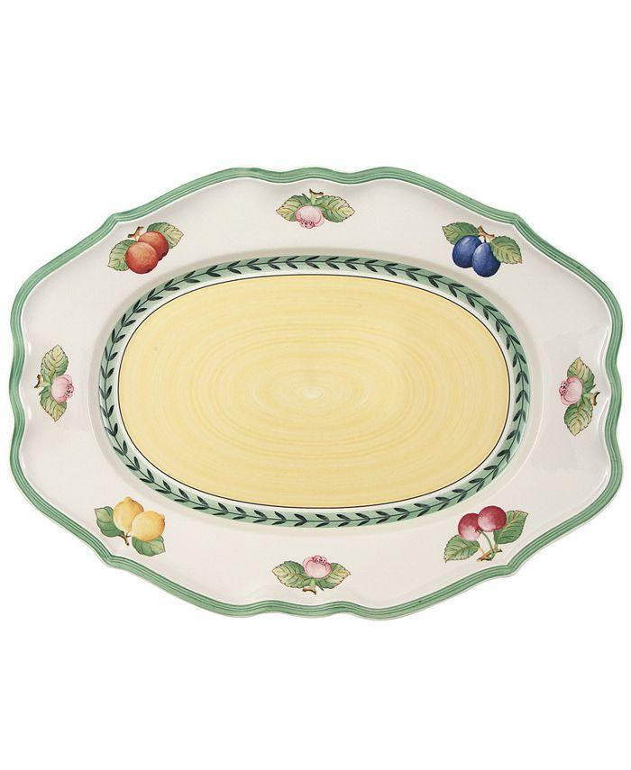 "Villeroy & Boch - ""French Garden"" 17"" Oval Platter"
