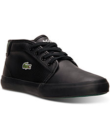 Lacoste Big Boys' Ampthill REI Casual Sneakers from Finish Line