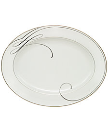 Waterford Ballet Ribbon Oval Platter