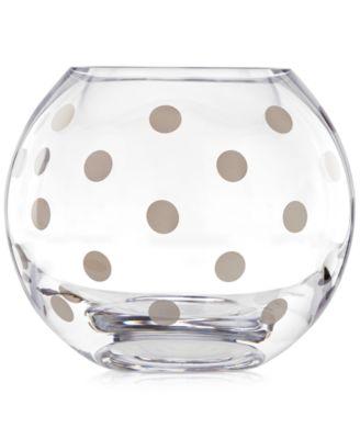 Pearl Place Platinum Rose Bowl Vase