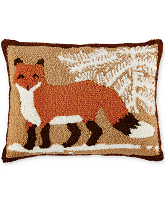 Martha Stewart Collection Fox Decorative Pillow Only At