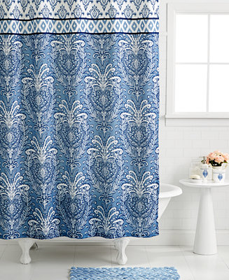 Dena Bath Accessories Madison Shower Curtain Bathroom