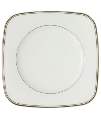 Kilbarry Platinum Square Salad Plate