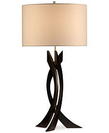 Nova Lighting Trensa Wood Table Lamp