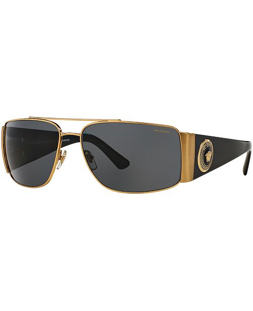 20364cea4 Versace Polarized Sunglasses , VE2163 & Reviews - Sunglasses by ...